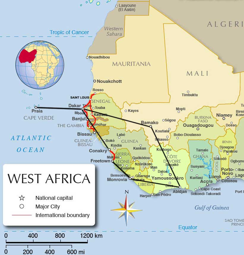 west africa West africa tours & trips 2018/2019 western africa is a land infused with fascinating cultures and surreal landmarks ghana, nigeria and mali are only 3 of the 18 nations this region encompasses, however, there is plenty of experiences for you to enjoy and to explore.